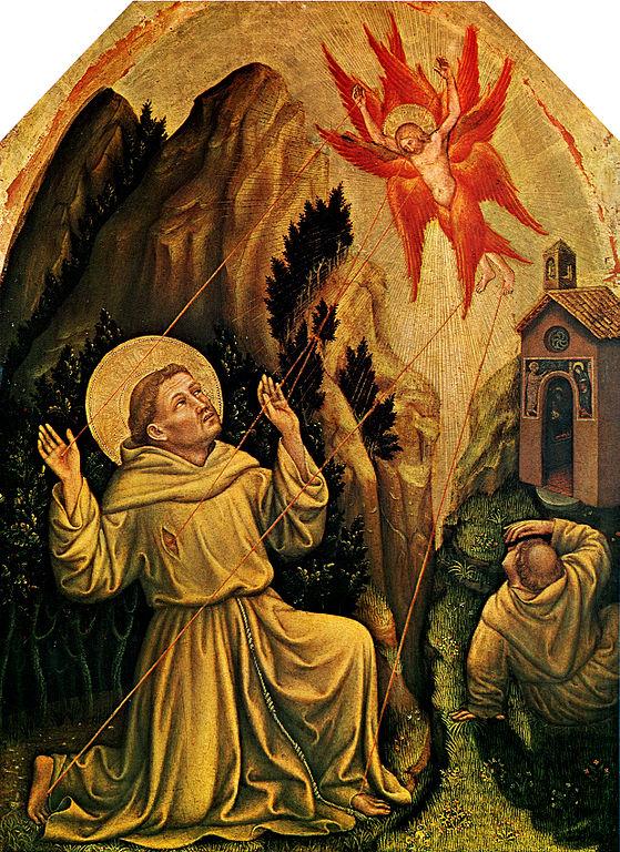 gentile da fabriano stimmate san francesco the young pope