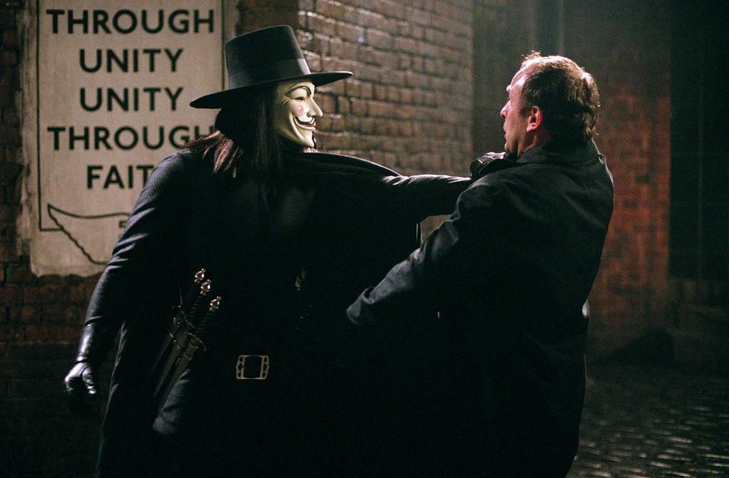 "James McTeigue, ""V per Vendetta"", 2005 (Credits: V for Vendetta © Warner Bros. 2005)"