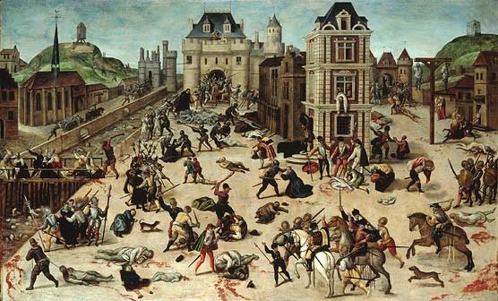 il massacro di san bartolomeo francois dubois the young pope